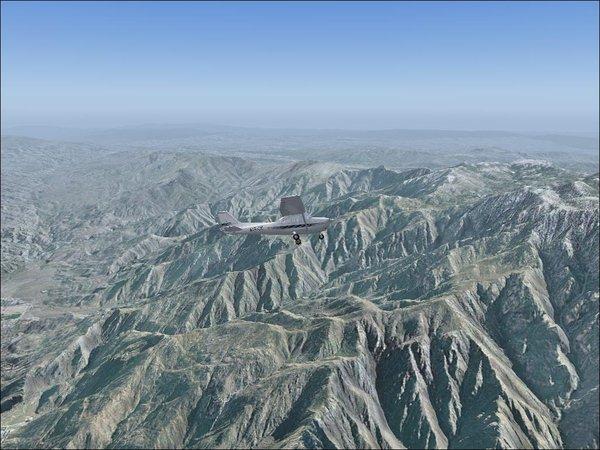 微软模拟飞行2004 飞机地图场景超级升级包