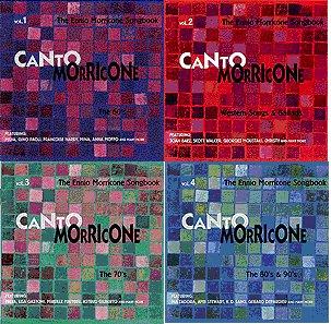98-99年德国出品的Canto Morricone一套四张专辑