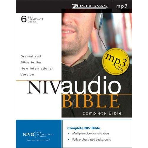 英文圣经NIV版 朗读MP3 Zondervan出版