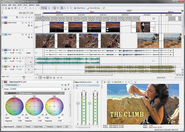 Sony Vegas Movie Studio Platinum Edition Pro